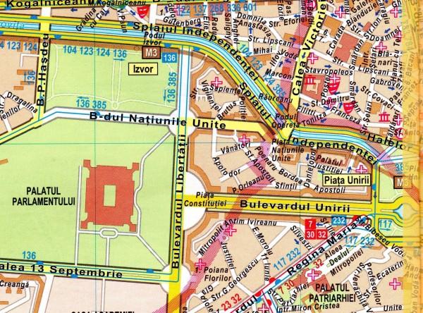 Fostele Clădiri De Pe Traseul Bulevardului Unirii I Bucurestii