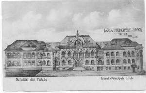 Liceul Principele Carol din Tulcea către 1912