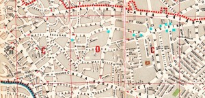Harta străzii Labirint