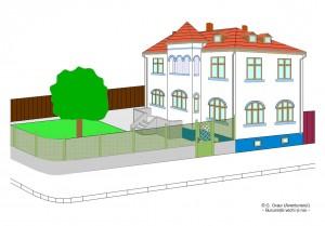 Vila de pe strada Labirint nr. 203