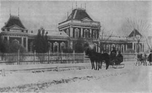Spitalul-Filantropia-la-sfarsitul-secolului-al-XIX-lea-cind-bulevardul-Ion-Mihalache-de-azi-se-numea-Filantropia
