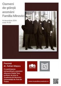 Oameni de ştiinţă aromâni - Familia Minovici