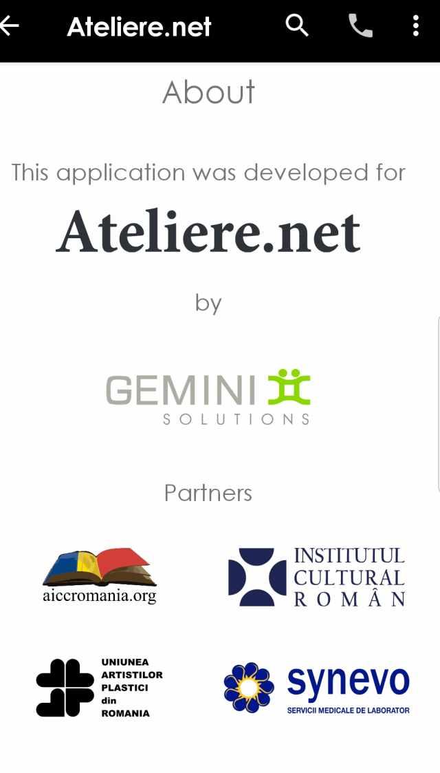 ateliere net Gemini solutions