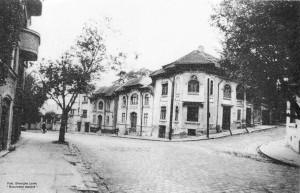 Strada Cazărmii la colțul cu intrarea Vitănești