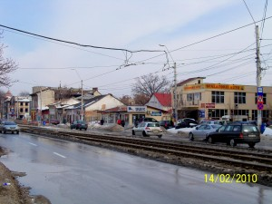 Calea Rahovei aproape de Piața Chirigiu (2010)