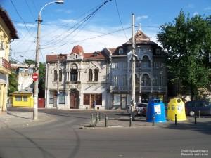 Bd. George Coșbuc văzut dinspre Calea Rahovei