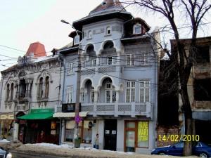 Vile în stil neoromânesc pe bd. George Coșbuc