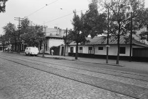 Stație de tramvai pe Calea Rahovei (1978)