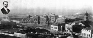 Panoramă veche a Căii Rahovei