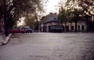 Calea Rahovei colț cu str. Sabinelor (1992)