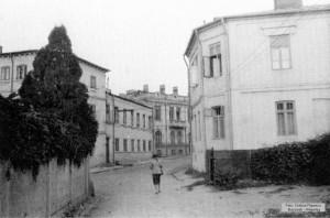 Str. Sfântul Ioan Nou văzută dinspre str. Nicolae Jitniță