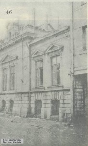 Casa de pe strada Sfântul Ioan Nou nr. 14 (vedere dinspre blocul art-deco)