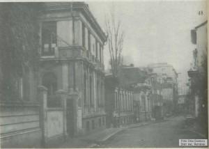 Strada Sfântul Ioan Nou (vedere panoramică)