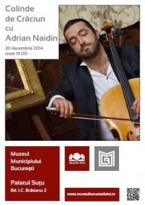 Colindăm alături de Adrian Naidin!