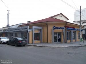 Restaurantul Seven de pe str. Delea Nouă colț cu Theodor Speranția
