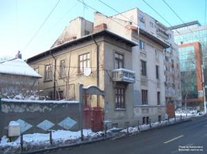 Strada Delea Nouă, aproape de intersecția cu str. Matei Basarab