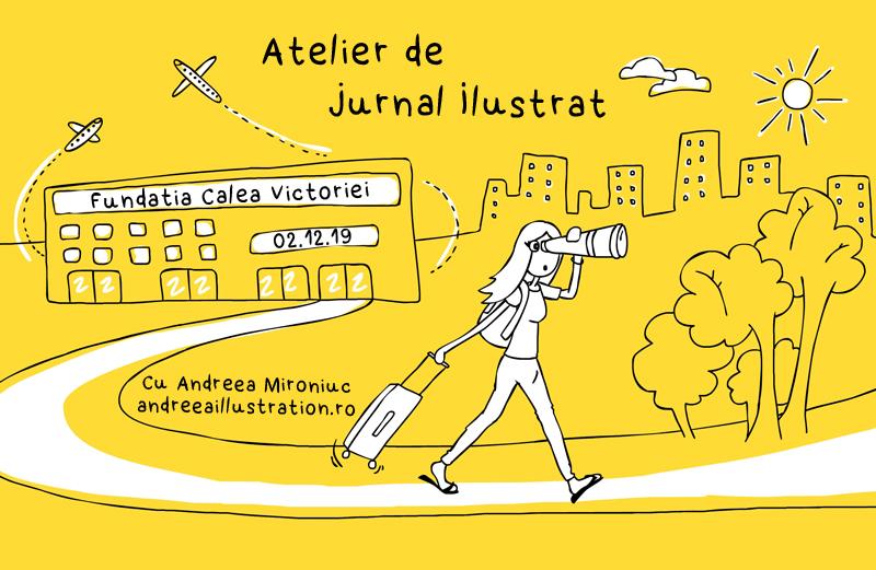 curs jurnal ilustrat și storytelling prin imagini